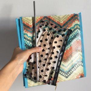 Bags - Zero Waste Starter bundle! W/reusable metal straw